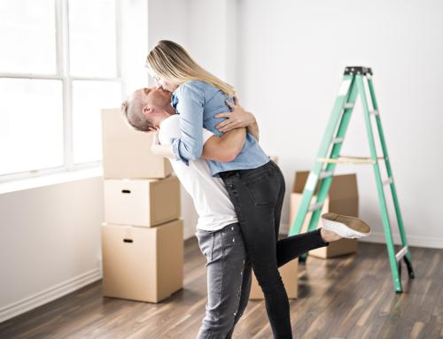Umziehen in die erste gemeinsame Wohnung